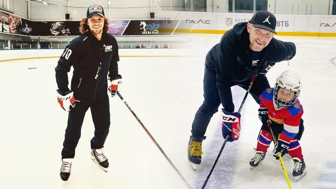 Овечкин и Панарин сменили профессию, Капризов гуляет на Патриках. Как русские звезды НХЛ развлекаются в отпуске