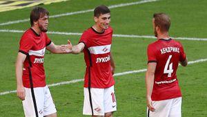Какже круто «Спартак» разобрался с «Сочи»! Забили 4 гола, 3 из них— настоящие красавцы: видео
