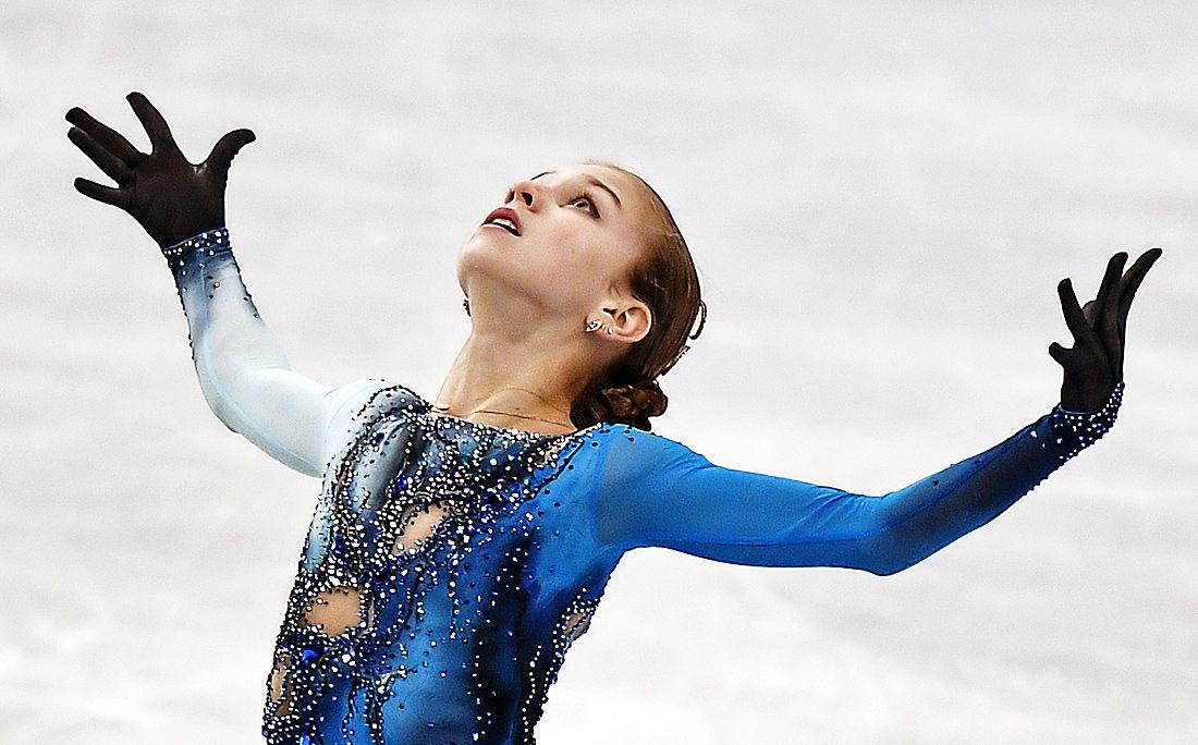 14-летняя русская фигуристка Трусова смогла откатать мужскую программу