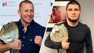 Нурмагомедов рассказал, кого считает лучшим бойцом вистории ММА