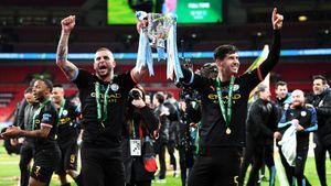 «Манчестер Сити» 3-й раз подряд выиграл Кубок английской лиги