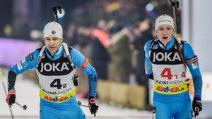 Бьорндален — великий гений. Вместе с Домрачевой он взял медаль рождественской гонки. Ему скоро 45
