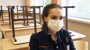 Школа Загитовой выложила видео последнего звонка с участием фигуристки