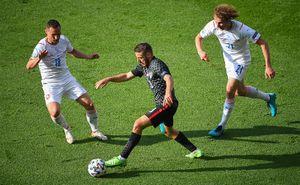Хорватия и Чехия сыграли вничью на чемпионате Европы