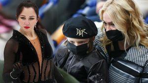 Гном Гномыч наблюдал за ошибками учениц отца, Квителашвили благодарил Россию. 2-й день Гран-при России