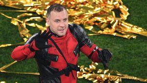Дзюба + Дэдпул: вместе обращались к Кокорину, Артем надел костюм в честь чемпионства и чуть не задохнулся в шлеме