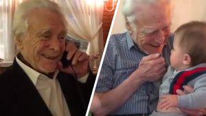 Жена Овечкина показала трогательные видео освоем умершем дедушке: его разговор сОви иобщение справнуком