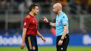 «Наёмный вор!» Испанцы атакуют судью финала Лиги наций с Францией— уверены, что проиграли из-за него