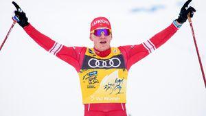 Русские лыжники заняли 5 первых мест на этапе Тур де Ски. Большунов выиграл, Спицов после ковида — 2-й