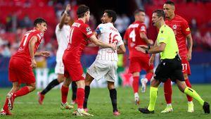 «Зальцбург» в большинстве не смог обыграть «Севилью» в ЛЧ. Австрийский клуб не реализовал 2 пенальти из 3