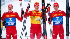 Русские лыжники устроили из «Тур де Ски» чемпионат России: в топ-9 восемь россиян. Большунов везет всем 2 минуты