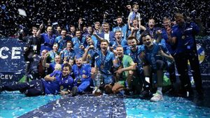 Московское «Динамо» взяло крутой еврокубок. «Зенит» из Санкт-Петербурга проиграл бело-голубым второй финал за сезон