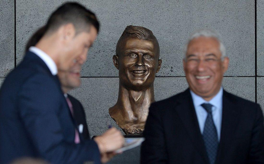 Автор нашумевшего бюста Роналду представил новейшую скульптуру игрока