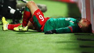 Гилерме вспылил, Смолов негодовал, аБаринов вылетел ваут: фото поражения «Локо» вЛиге чемпионов