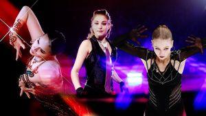 Черный — главный цвет сезона у русских фигуристок. Загитова, Косторная и Трусова в тренде: оценивают эксперты