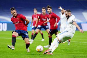 «Реал» не сумел обыграть «Осасуну» в матче Ла Лиги