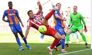 «Барселона» сыграла вничью с «Атлетико» и поднялась на 2-е место в Ла Лиге