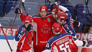 ЦСКА не собирается отдавать титул! Чемпион дожал «Локомотив» одним звеном и вернул лидерство в серии