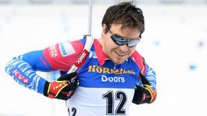 Русский биатлонист почти стал звездой на Кубке мира. Но работа жены не делает его топом