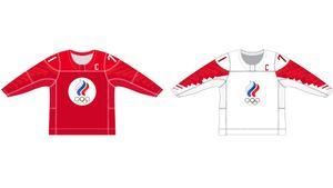 Официально представлен дизайн формы сборной России на чемпионат мира по хоккею