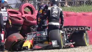 Хэмилтон нашел способ побеждать— снес с трассы Ферстаппена, Мазепин внезапно разобрался с Шумахером