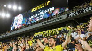 Клуб MLS «Коламбус Крю» устроил акцию в память о погибшем вратаре НХЛ Кивлениексе