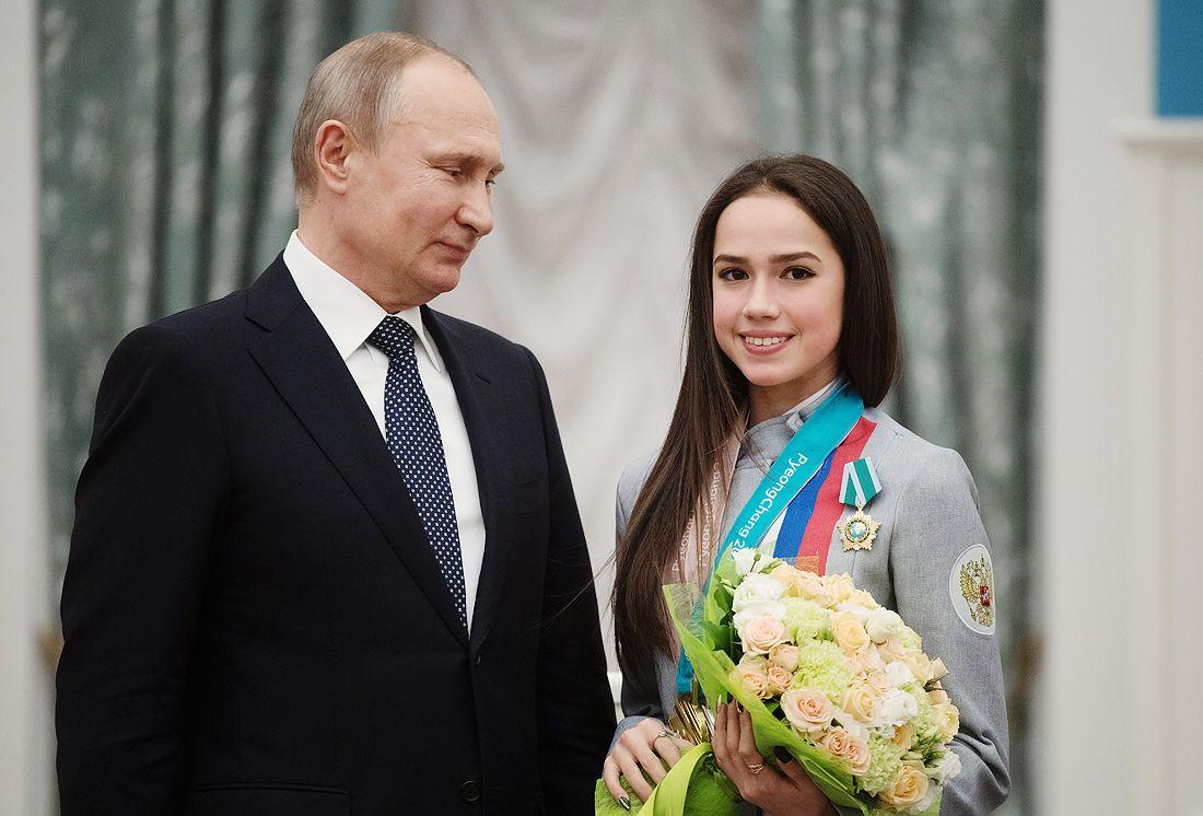 Алина Загитова задаст вопрос Владимиру Путину наПрямой линии