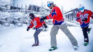 Доступная альтернатива горным лыжам: снежные коньки Sled dogs— «ездовые собаки»