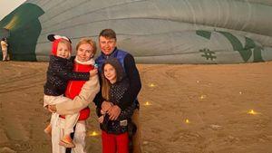 Ягудин с семьей полетал на воздушном шаре: «Еще одна мечта сбылась»