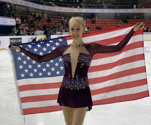 Чемпионка США перешла к русскому тренеру. Фигуристка Теннелл едет к Туктамышевой в группу Мишина