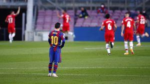 «Барселона» уступила «Гранаде» и упустила возможность единолично возглавить Ла Лигу