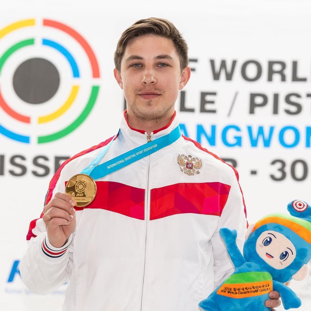 Русский стрелок Дрягин завоевал первую медаль Кубка мира, побив рекорд мира