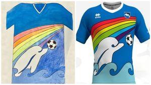«Пескара» представила новую форму, созданную на основе рисунка 6-летнего фаната