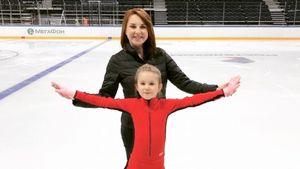 Слуцкая: «Прошу тренера строже относиться к моей дочери. Она носит мою фамилию и должна быть в два раза сильнее»