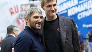 Овечкин стал баскетбольным болельщиком, Бобровский познакомился сДзюбой. Лето русских хоккеистов