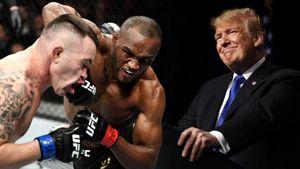 Главному фанату Трампа в UFC сломали челюсть. Ковингтон называл Хабиба «любителем овец»