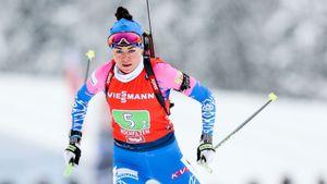 Куклина выиграла масс-старт на чемпионате России по биатлону
