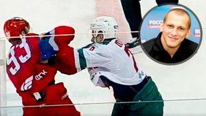 Молодой русский хоккеист уложил канадца приемом из самбо. Разбор драки от бойца ММА Василевского