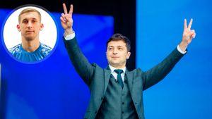 Украинский защитник «Тамбова» Каплиенко: «Голосовал за Зеленского, он крутой»