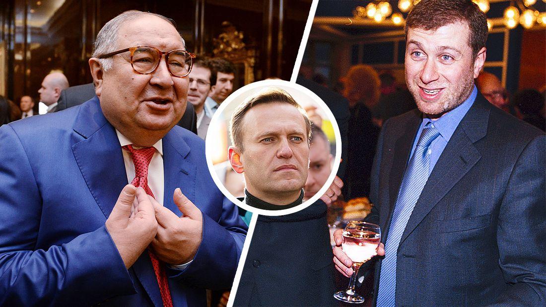 В британском парламенте обсудили санкции против Абрамовича и Усманова. Наказать олигархов призвал Навальный