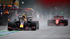 Боссы Формулы-1 чуть не убили Хэмилтона, Ферстаппена и Феттеля. Заставили их пилотировать в лютый дождь