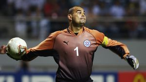 Ему аплодировал Марадона. 21 год вратарскому рекорду Чилаверта: он забил 3 гола в одном матче