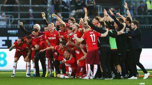 «Кельн» разгромил «Хольштайн» и сохранил место в Бундеслиге на следующий сезон