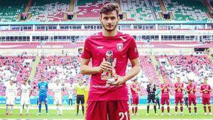 Полузащитник «Рубина» Кварацхелия попал в топ-50 лучших футболистов мира до 20 лет