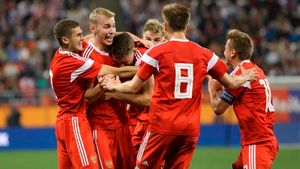 Кажется, наша молодежка неслабее главной сборной. Занее уже забивают лидеры ЦСКА и«Спартака»