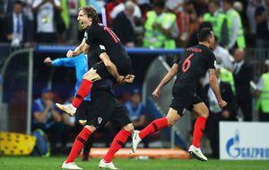 Модрич стал рекордсменом сборной Хорватии по числу проведенных матчей