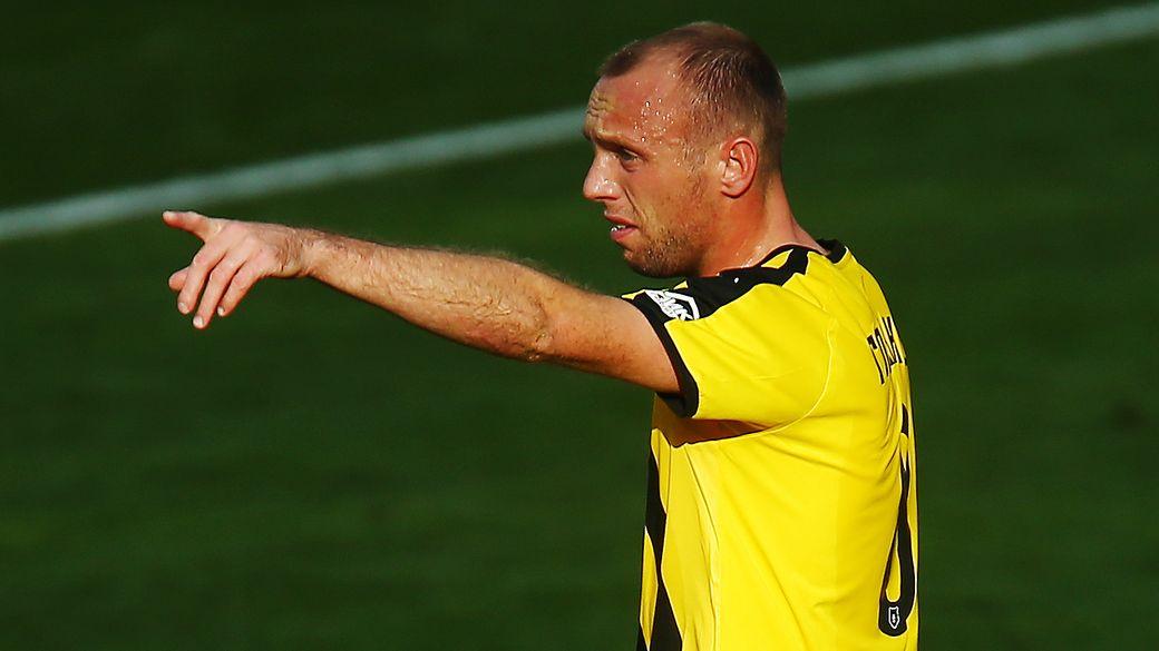 Глушаков забил гол в ворота Спартака мощным ударом со штрафного. Видео