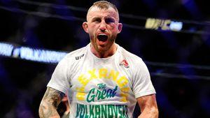 Волкановски во второй раз успешно защитил титул UFC, победив Ортегу