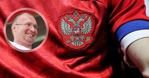 «Пусть хоть голые бегают». Депутат Лебедев оценил новую форму сборной России сперевернутым флагом