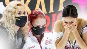 Русские фигуристки Трусова и Усачева довели кореянку до слез. Так прошел Гран-при Skate America: фото